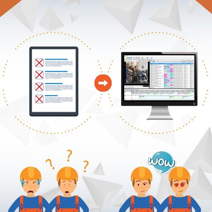 คู่มือการปฎิบัติงาน ด้วยระบบการถ่ายวีดีโอช่วยลดเวลาและเพิ่มประสิทธิภาพการทำงาน